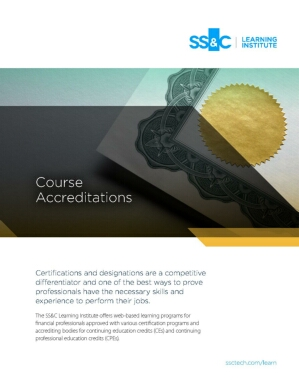 Course Accreditations