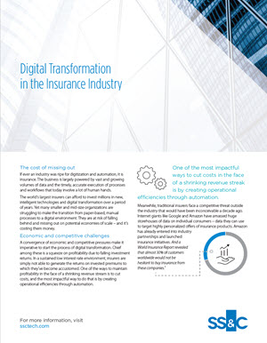 Digital Transformation in the Insurance Industry: Are You There?