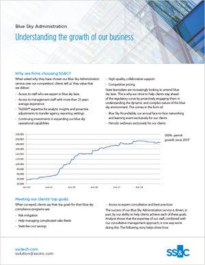 Blue Sky Administration: Understanding the Growth of Our Business