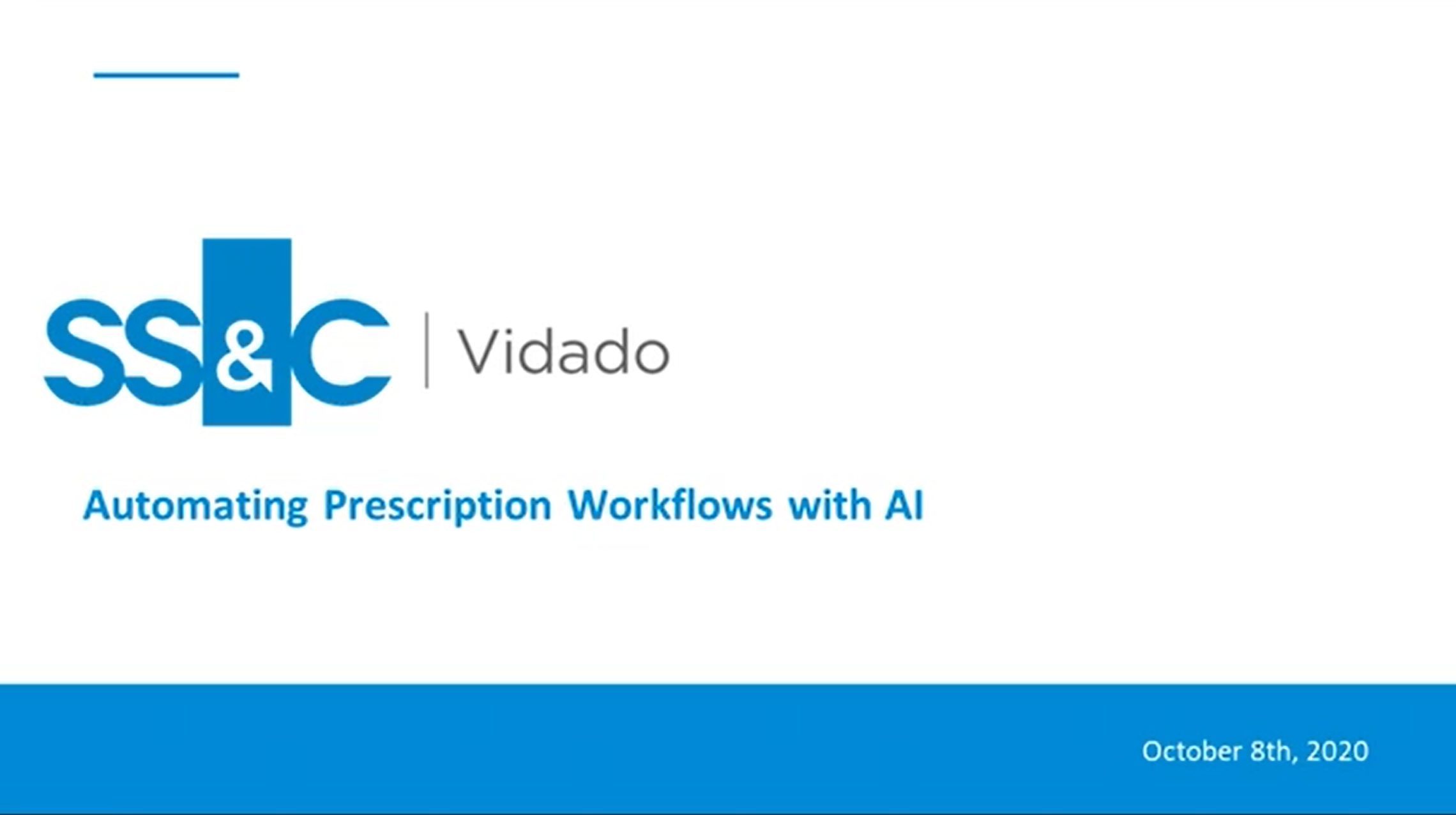Automating Prescription Workflows with AI - Webinar Recording