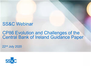 CP86 Evolution and Challenges of the Central Bank of Ireland Guidance Paper