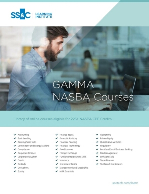 GAMMA NASBA Course Catalog