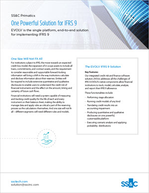 One Powerful Solution for IFRS 9