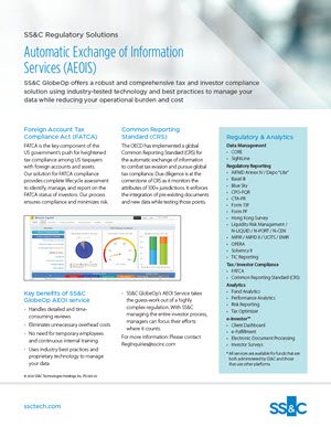 Automatic Exchange the Information Services (AEOIS)
