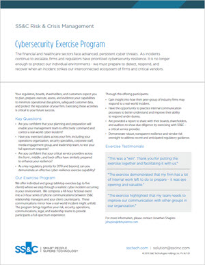Cybersecurity Exercise Program