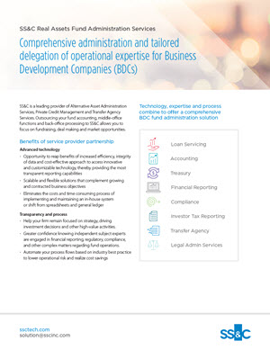 Comprehensive Administration Services for Business Development Companies (BDCs)