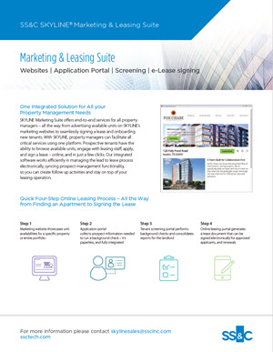 Marketing & Leasing Suite