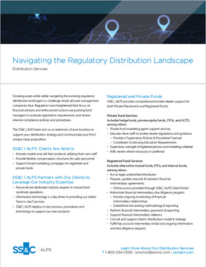 Navigating the Regulatory Distribution Landscape