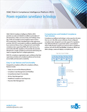 Proven Regulation Surveillance Technology
