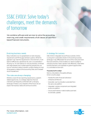 SS&C EVOLV: Solve Today's Challenges, Meet the Demands of Tomorrow
