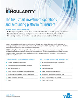 SS&C's Innovative Solutions for Insurers