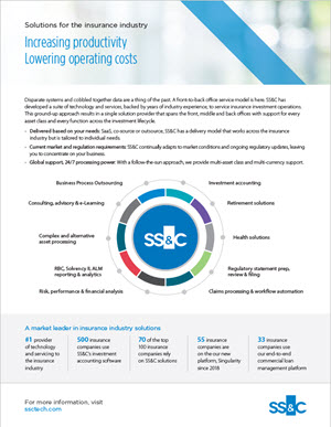 SS&C Solutions for the Insurance Industry