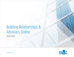 Building Relationships & Advocacy Online