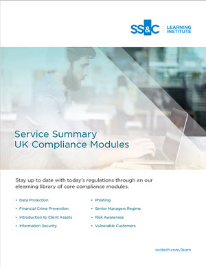SS&C Learning Institute – UK Compliance Modules