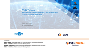 SS&C Sylvan: State of the Art Performance Measurement and Attribution