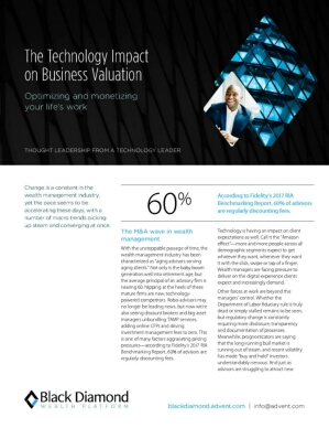 The Technology Impact on Business Valuation