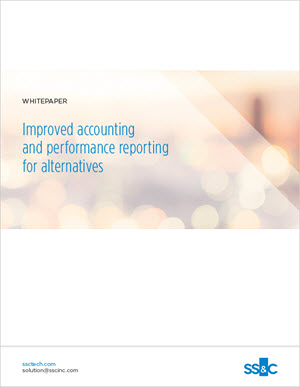 Improved accounting and performance reporting for alternatives