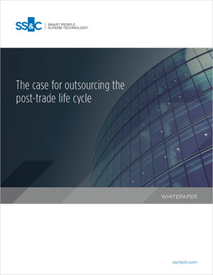 The case for outsourcing post-trade life cycle