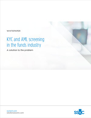 KYC and AML Screening for the Funds Industry - A Solution to the Problem