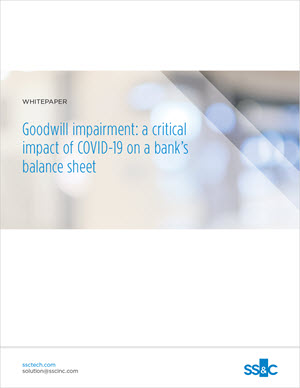 Goodwill impairment: a critical impact of COVID-19 on a bank's balance sheet
