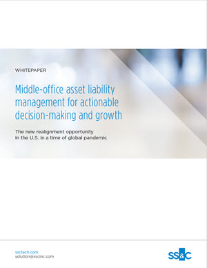 Middle-office asset liability management for actionable decision-making and growth