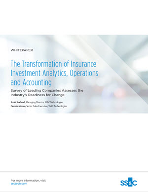 The Transformation of Insurance Investment Analytics, Operations and Accounting