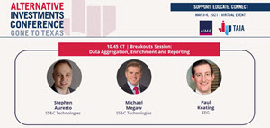 AIMA Gone to Texas - SS&C Presents: Data Aggregation, Enrichment and Reporting