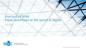 End-to-End BPM: Paper workflows at the speed of digital