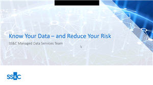 Know Your Data and Reduce Your Risk