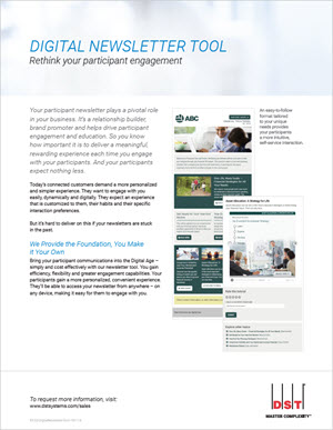 Digital newsletter tool