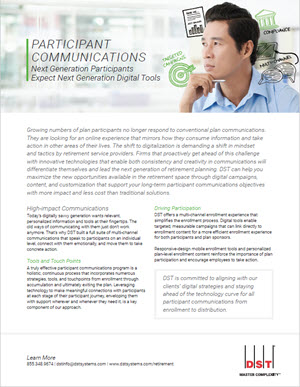 Participant communications