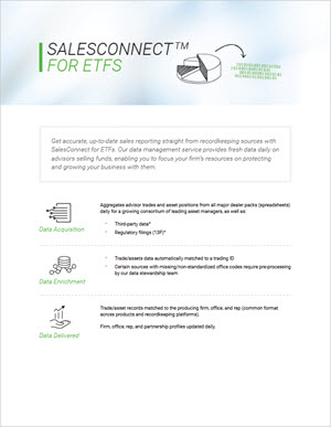 SalesConnect for ETFs