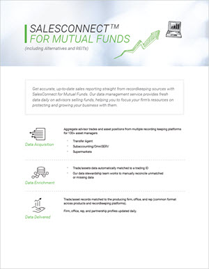 SalesConnect for Mutual Funds