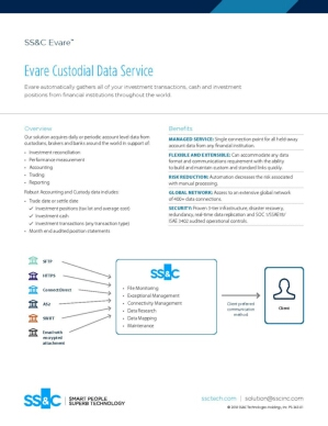 Evare Custodial Data Service