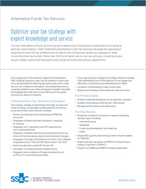 Optimize your tax strategy with expert knowledge and service