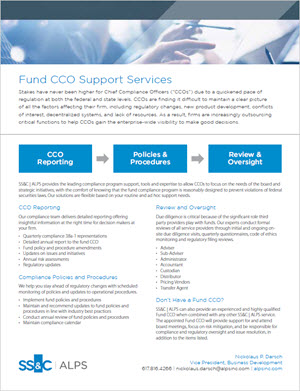 Fund CCO Support Services