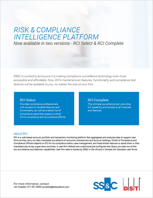 Risk & Compliance Intelligence Platform