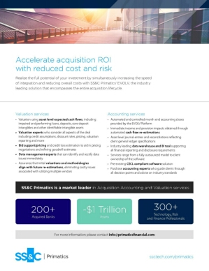 Accelerate acquisition ROI with reduced cost and risk