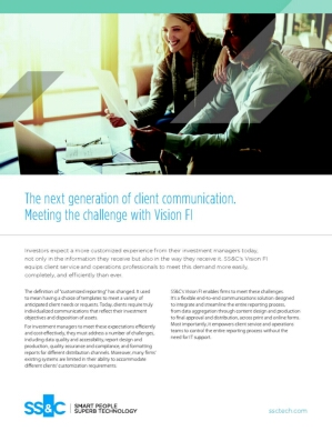 Vision FI - The next generation of client communication