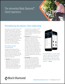 Black Diamond® Client Experience