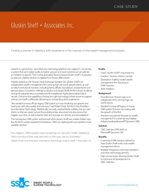 Gluskin Sheff + Associates Inc.