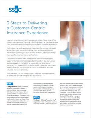 3 Steps to Delivering a Customer-Centric Insurance Experience