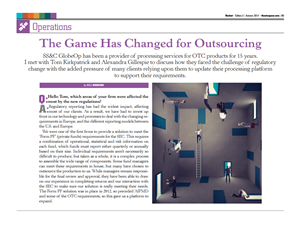 The Game Has Changed for Outsourcing