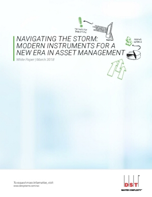 Navigating the Storm: Modern Instruments for a New Age in Asset Management