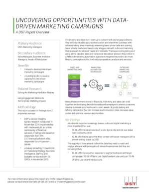 Uncovering Hidden Opportunities with Data-Driven Marketing Campaigns