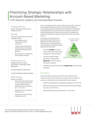 Prioritizing Strategic Relationships with Account-Based Marketing