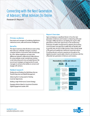 Connecting with the Next Generation of Advisors: What Advisors Do Online