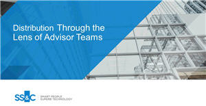 Distribution Through the Lens of Advisor Teams