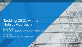 Tackling CECL with a holistic approach
