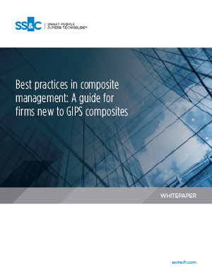 Best practices in composite management: A guide for firms new to GIPS composites
